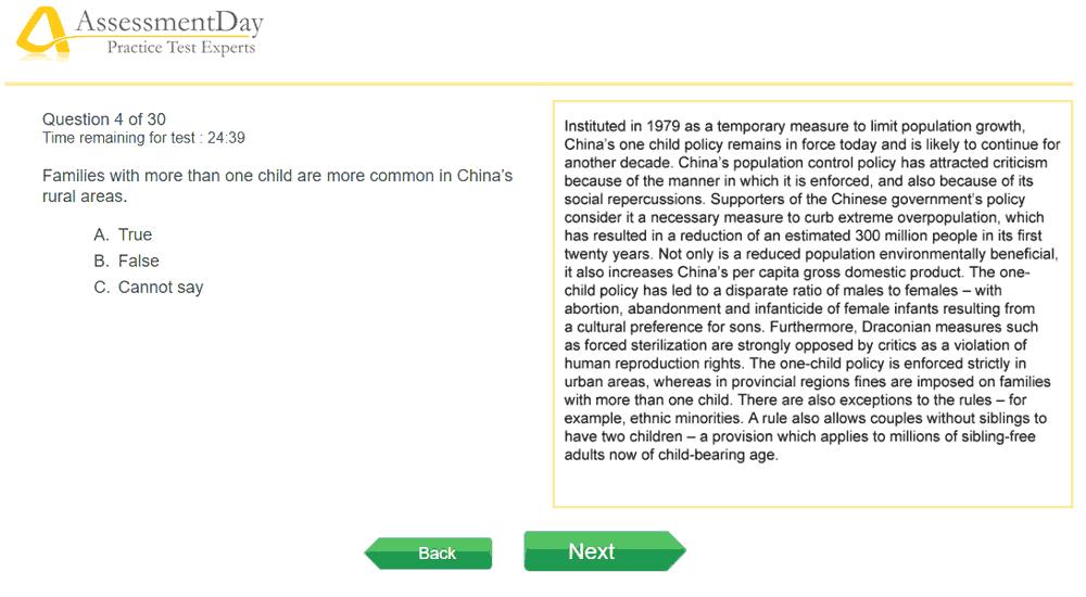 online verbal reasoning  free preparation tests
