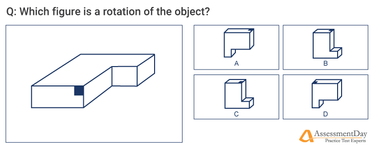 spatial ability sample question